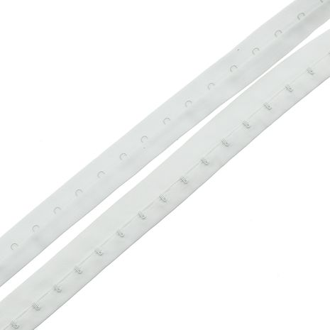 Agrafes sur bande au mètre - Blanc
