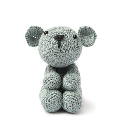 Kit crochet amigurumi - Ourson gris