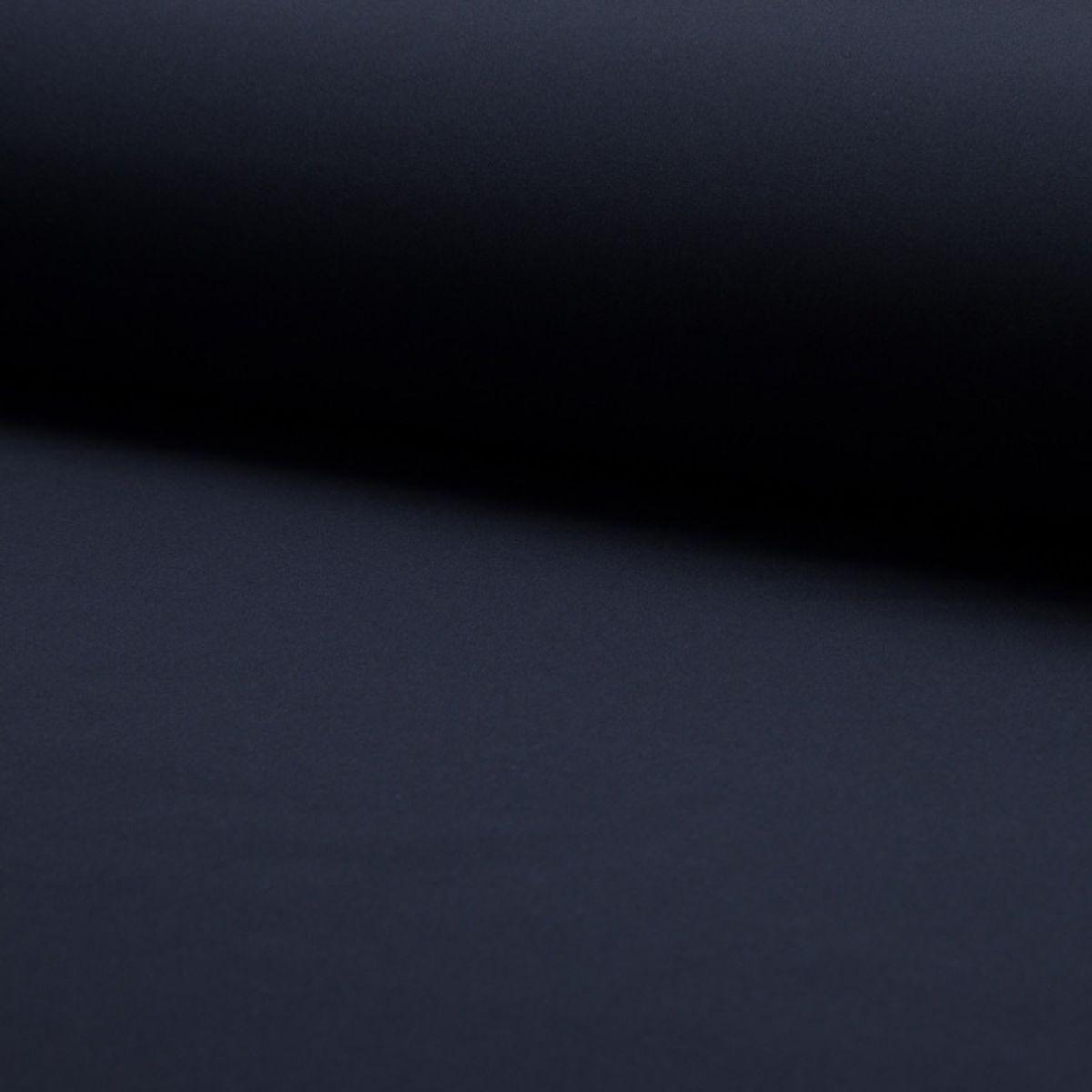 Tissu softshell - Bleu marine