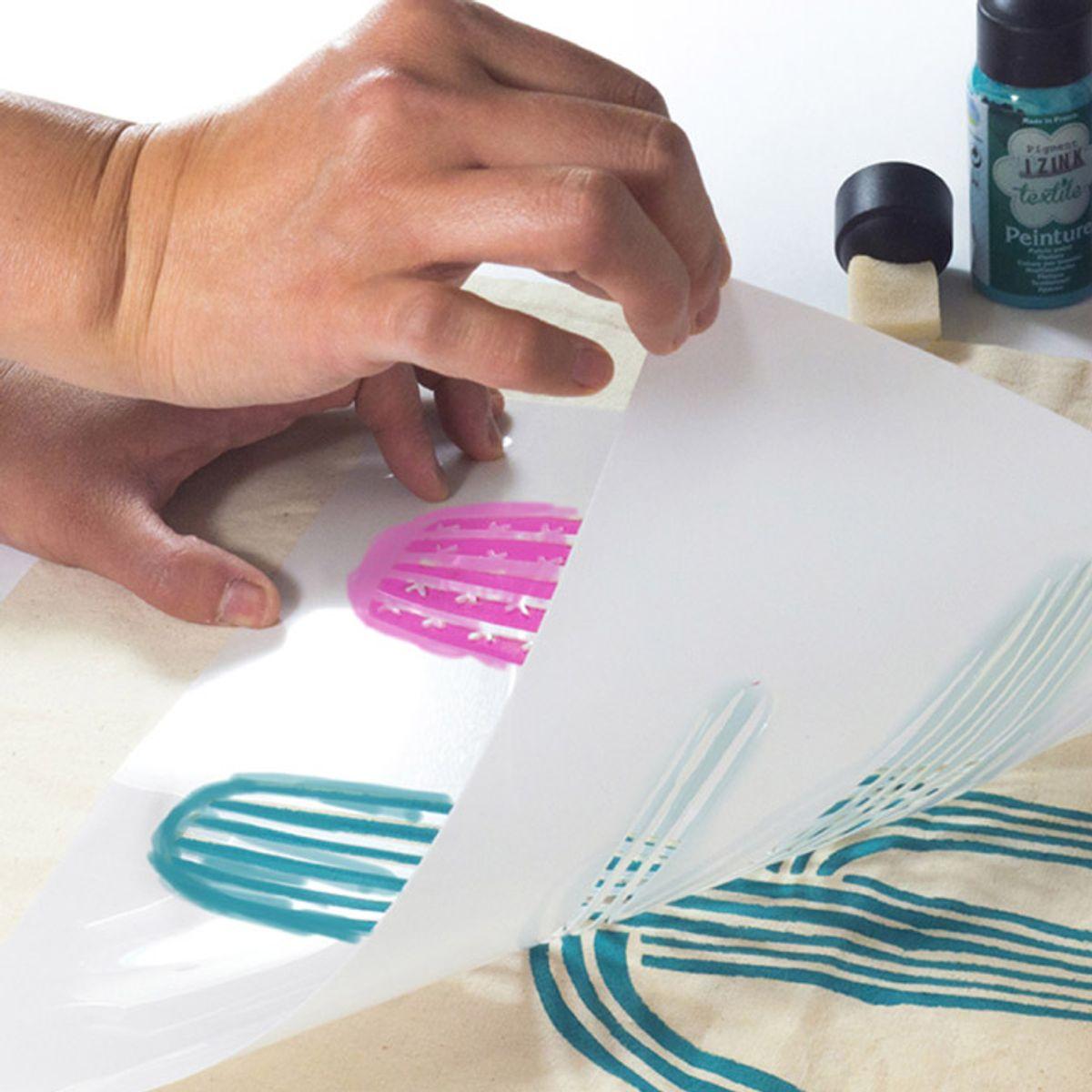 Pochoir textile maxi