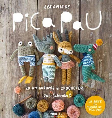 Livre les amis de Pica Pau - 20 amigurumis à crocheter