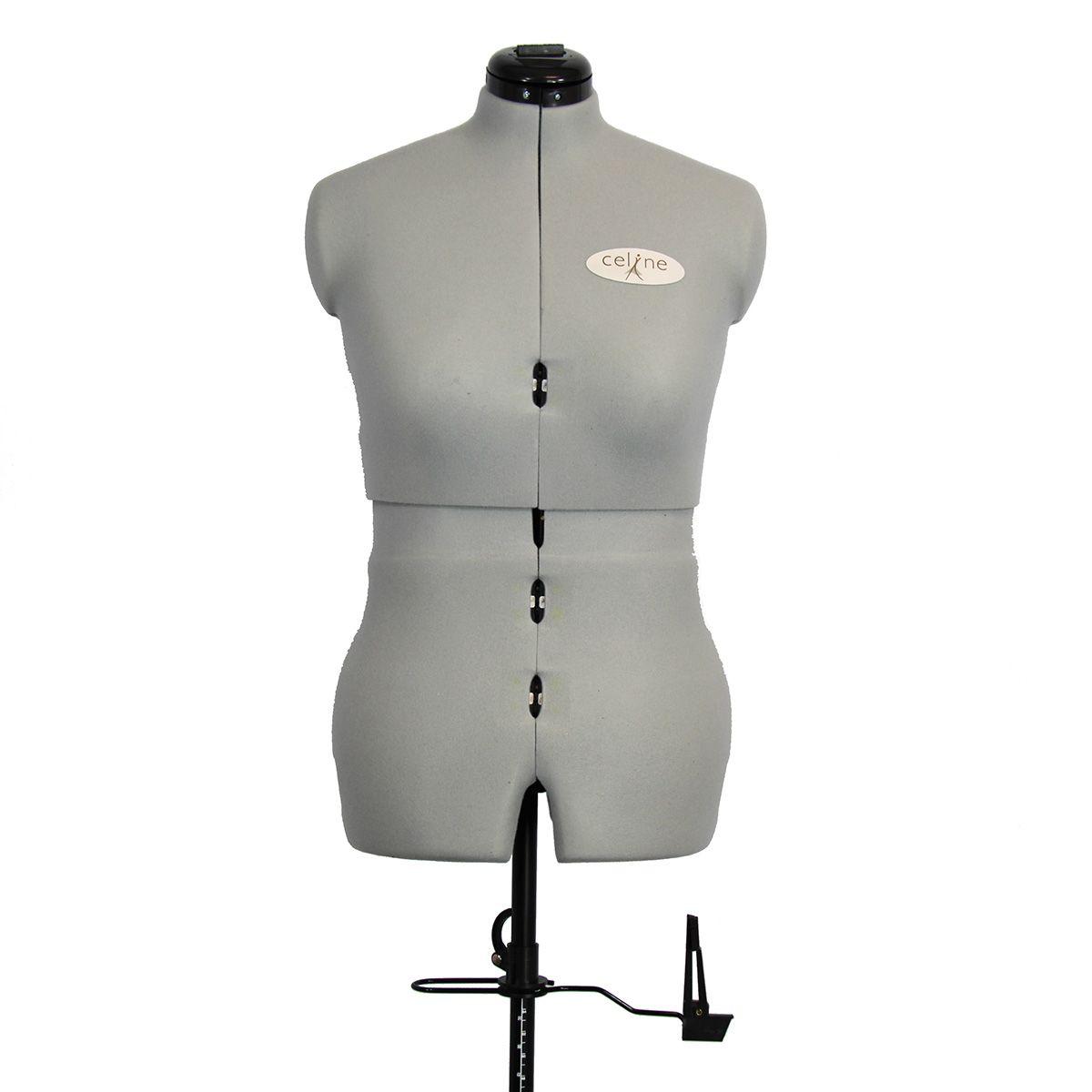 Mannequin de couture Céline sur roulettes taille 36 / 44