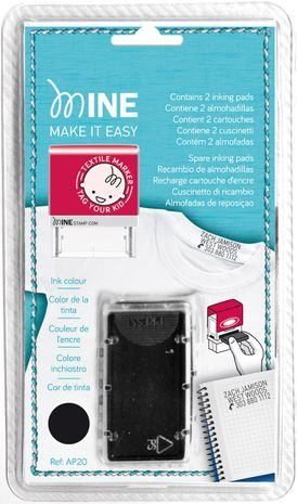 Recharges cartouches d´encre pour tampon marqueur Mine