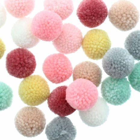 Set de 24 pompons en laine - Pastel
