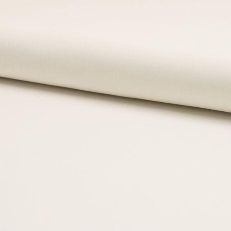 Tissu coton uni - Ecru