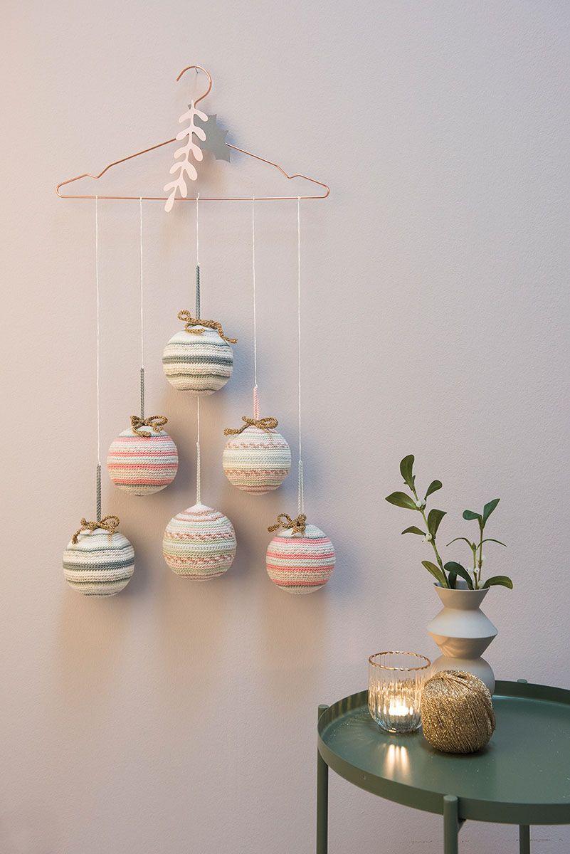 Kit crochet amigurumi - Boule à rayures