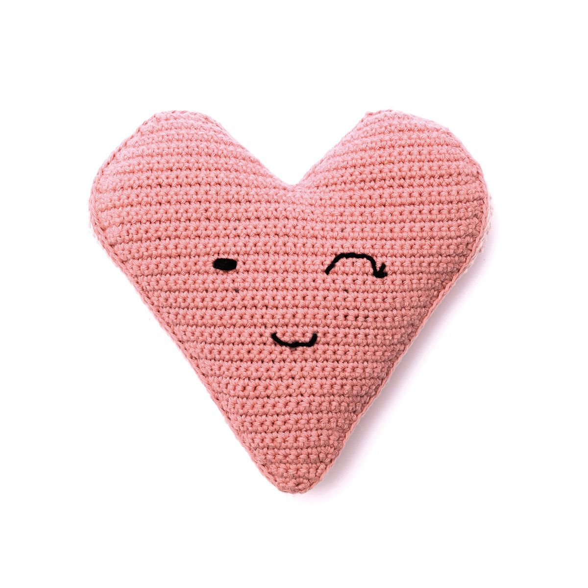 Kit crochet amigurumi - Grand coeur