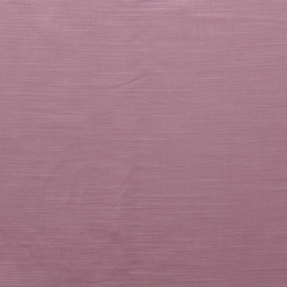 Tissu lin viscose - Rose