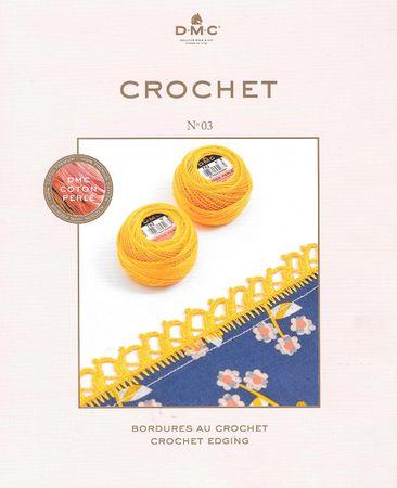 Livre crochet DMC bordures au crochet - N° 03
