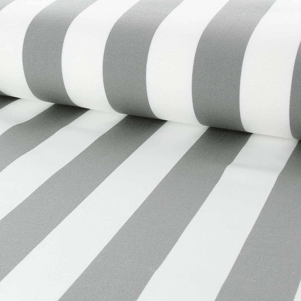 Toile transat - Blanc et gris