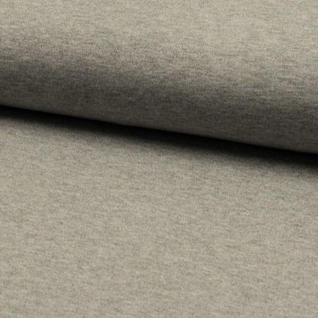 Tissu jersey viscose - Gris mélangé