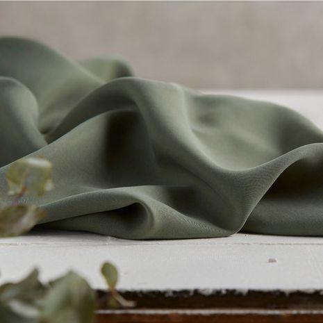 Tissu tencel - Vert mousse