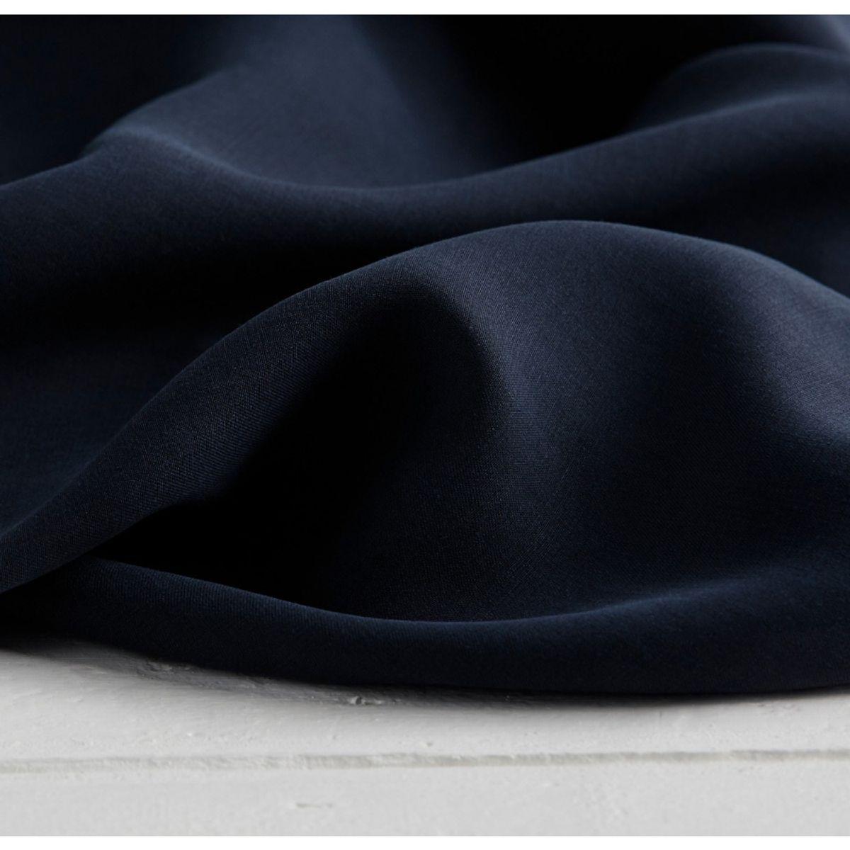 Tissu tencel - Bleu marine