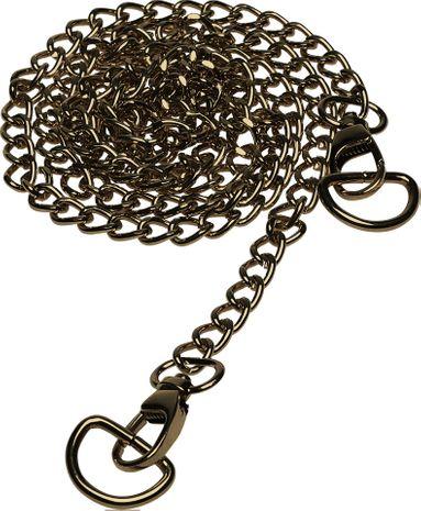 Chaine pour sac à main 120 cm avec anneaux en D - Bronze