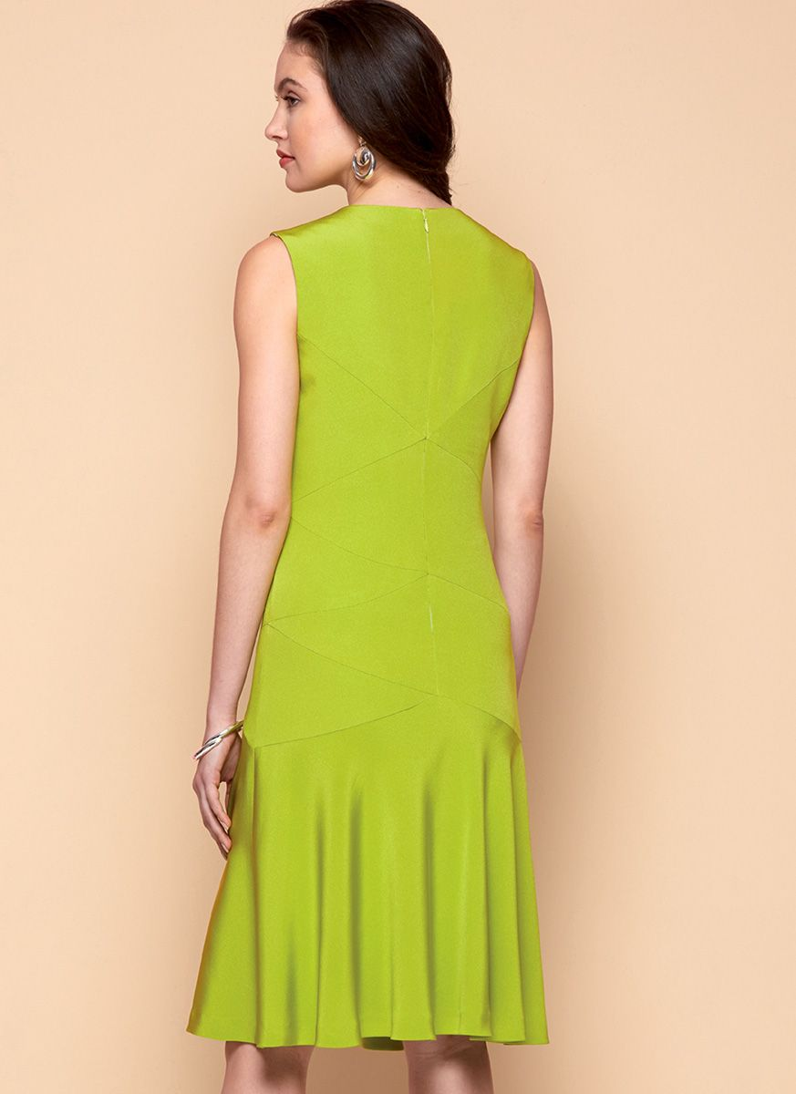 Patron de robe - Vogue 9369
