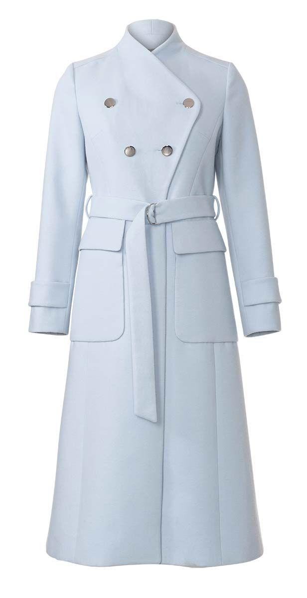 Patron de manteau cintré - Burda 6290