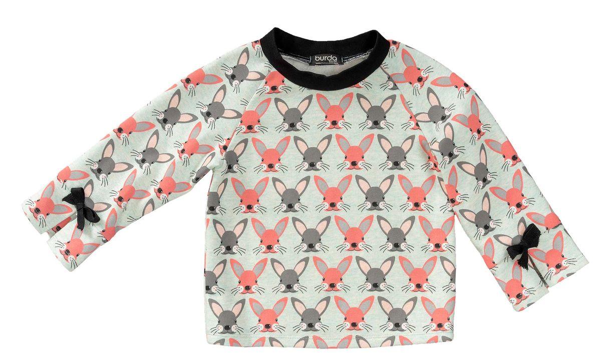 Patron de sweat-shirt à capuche - Burda 9308
