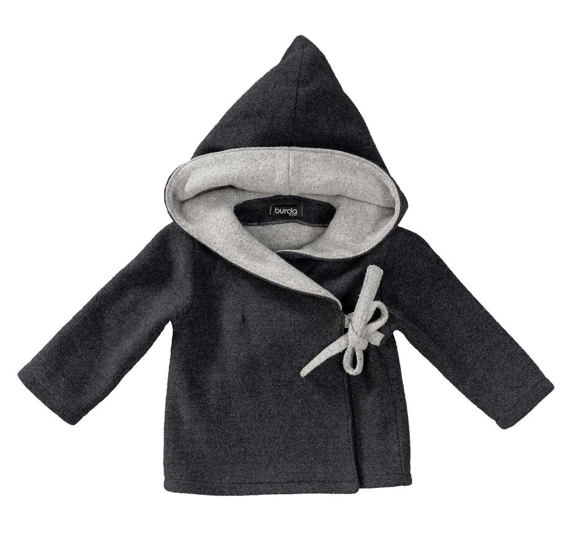 Patron de veste à capuche et pantalon - Burda 9311