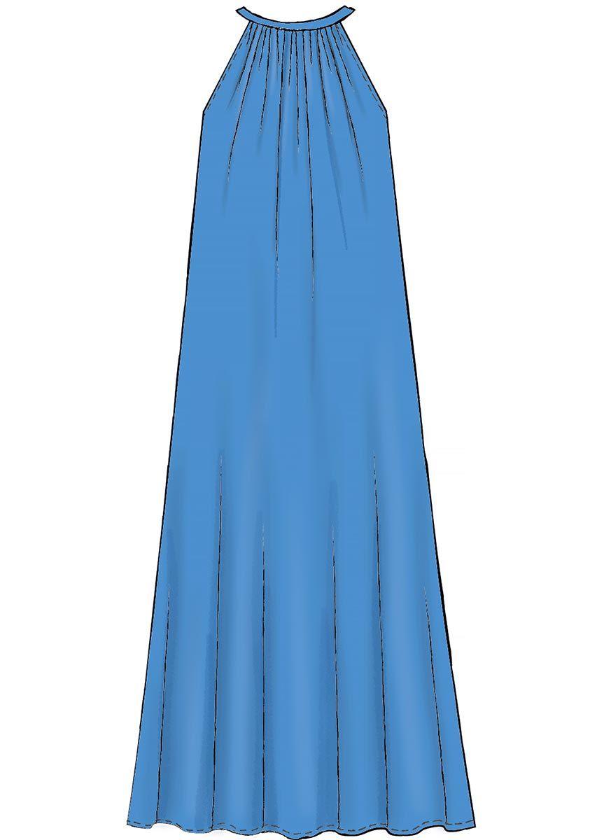 Patron de robes - McCall's 7943
