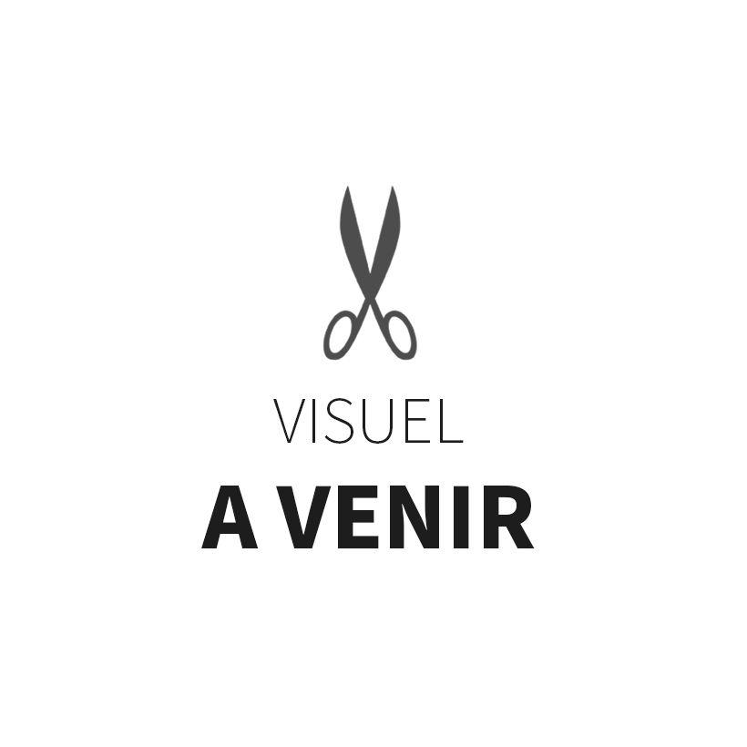 Tissu double gaze France Duval - Banane carreaux argent